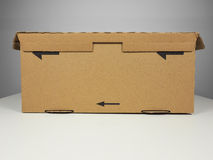 Brown packet parcel Stock Image
