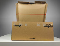 Brown packet parcel Stock Photography