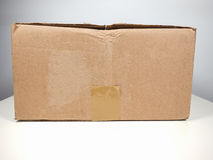 Brown packet parcel Royalty Free Stock Photography