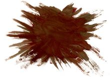 Brown Paint Background Royalty Free Stock Images