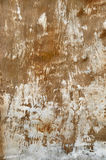 Brown Paint Smear Royalty Free Stock Photo
