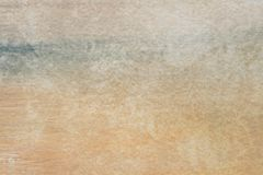 Free Brown Painted Aristic Watercolor Texture Background Stock Photography - 109080982