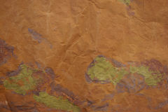 Brown painted background Royalty Free Stock Photos