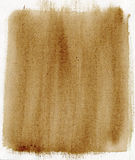 Brown painted background with canvas texture Royalty Free Stock Photos