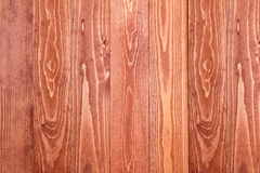 Brown painted wooden wall Stock Photography