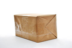 Brown-Paket Lizenzfreie Stockfotografie