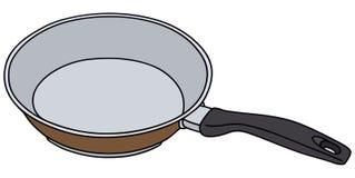 Brown pan Stock Photo