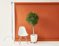 Brown paper backdrop stock photography