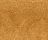 Brown paper background. Blank sheet of brown paper useful as a background Royalty Free Stock Image