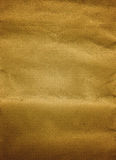 Brown Paper background. Crumpled Brown handmade paper background little burned from the sides Royalty Free Stock Photography