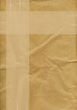 Brown paper background Royalty Free Stock Photos