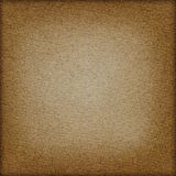 Brown paper background. With frame Stock Image