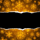 Brown christmas paper abstract background stock illustration