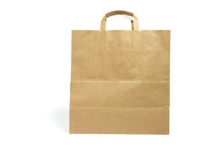 Brown Paper Bag Stock Image