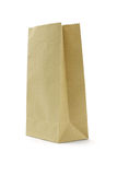 Brown paper bag stock photography