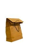 Brown Paper Bag. On White Backgroun Stock Image