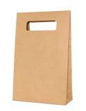 Brown paper bag Royalty Free Stock Photos
