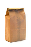 Brown Paper Bag. A brown paper bag isolated on a white background Stock Images