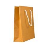 Brown paper bag Stock Images