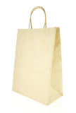 Brown paper bag isolated on white Royalty Free Stock Photography