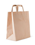 Brown paper bag Royalty Free Stock Photos