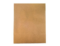 Brown paper bag packaging for environment Royalty Free Stock Image