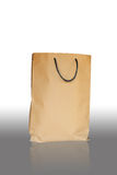 Brown paper bag. Brown paper for packing food and fruits Stock Photography