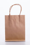 Brown paper bag Stock Photo