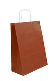 Brown paper bag Stock Images