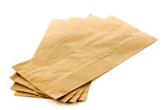 Brown paper bags Stock Photography