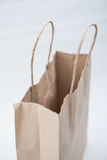 Brown paper bags isolate on white background Stock Photo