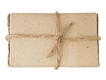 Brown paper binding Royalty Free Stock Photos