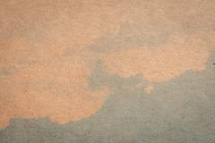 Brown paper and blue water colour texture and background with sp. Ace stock images