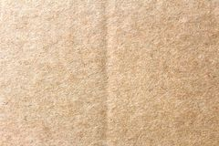 The brown paper box, abstract cardboard background royalty free stock image