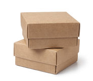 brown paper box Royalty Free Stock Photos