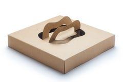 brown paper box Royalty Free Stock Photos