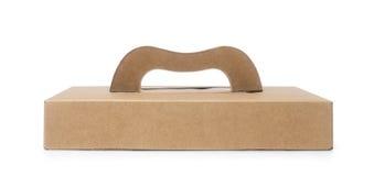 brown paper box Stock Photo