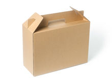 brown paper box Royalty Free Stock Images