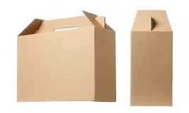 Brown paper box Stock Photography