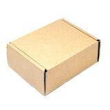 Brown paper box. Stock Image