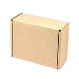 Brown paper box. Stock Images