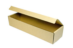 Brown paper box. Stock Photography