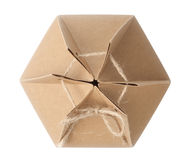 brown paper boxb Stock Images