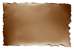 Brown paper with burn style Royalty Free Stock Photos