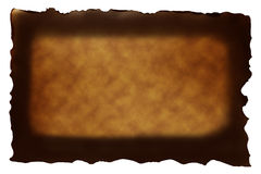 Brown paper with burned style Royalty Free Stock Images