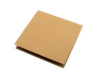 Brown paper card board Royalty Free Stock Photos
