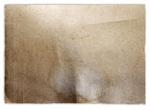 Brown paper Stock Photo