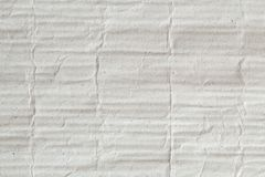 Brown Paper corrugated cardboard texture as a background for presentation, abstract recycle paper texture for design royalty free illustration