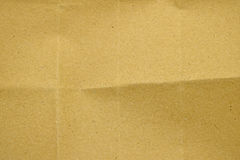 Brown paper crease texture Royalty Free Stock Photos