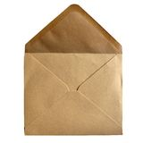 Brown paper envelope Stock Photos